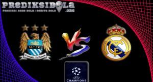 Prediksi Skor Manchester City Vs Real Madrid 27 April 2016
