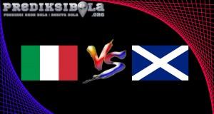 Prediksi Skor Italy Vs Scotland  30 Mei 2016