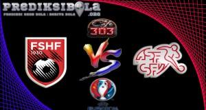 Prediksi Skor Albania Vs Swiss  11 Juni 2016