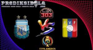 Prediksi Skor Argentina Vs Venezuela  19 Juni 2016