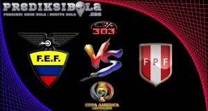 Prediksi Skor Ekuador Vs Peru  9 Juni 2016