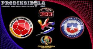 Prediksi Skor Kolombia Vs Chile  23 Juni 2016