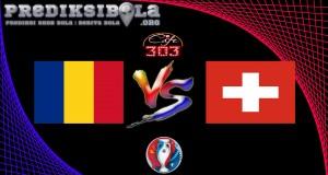 Prediksi Skor Romania Vs Swiss 15 Juni 2016