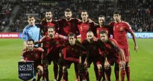 Spanyol kalah dari Georgia dalam laga Persahabatan
