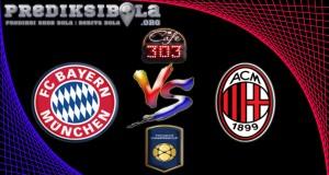 Prediksi Skor Bayern Munchen Vs AC Milan 28 Juli 2016