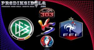 Prediksi Skor Jerman Vs Prancis  8 Juli 2016