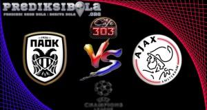 Prediksi Skor PAOK Thessaloniki Vs Ajax 4 Agustus 2016