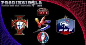 Prediksi Skor Portugal Vs Prancis  10 Juli 2016