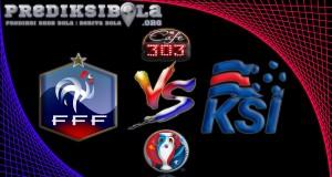 Prediksi Skor Prancis Vs Islandia  4 Juli 2016