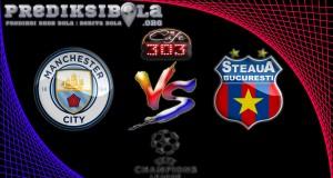 Prediksi Skor Manchester City Vs Steaua Bucuresti 25 Agustus 2016
