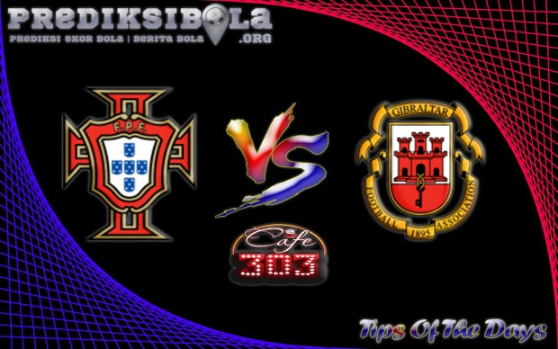 Prediksi Skor Portugal Vs Gilbraltar 2 September 2016