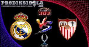 Prediksi Skor Real Madrid Vs Sevilla 10 Agustus 2016