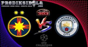 Prediksi Skor Steaua Bucuresti Vs Manchester City 17 Agustus 2016