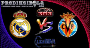 Prediksi Skor Real Madrid Vs Villarreal 22 September 2016