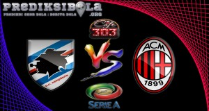 Prediksi Skor Sampdoria Vs AC Milan 17 September 2016