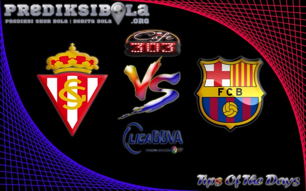 Prediksi Skor Sporting Gijon Vs Barcelona 24 September 2016