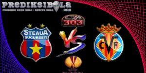 Prediksi Skor Steaua Bucuresti Vs Villarreal 30 September 2016
