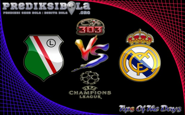 Prediksi Skor Legia Warszawa Vs Real Madrid 3 November 2016