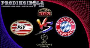 Prediksi Skor PSV Vs Bayern munchen 2 November 2016