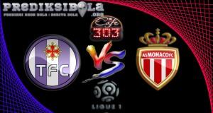 Prediksi Skor Toulouse Vs AS Monaco 15 Oktober 2016
