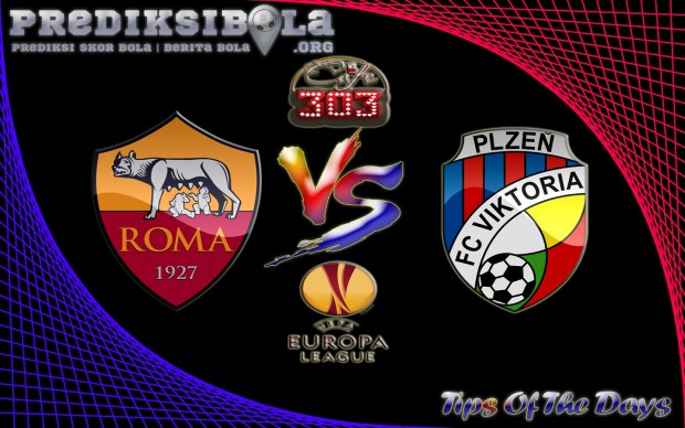 Prediksi Skor AS Roma Vs Viktoria Plzen 25 November 2016
