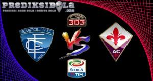 Prediksi Skor Empoli Vs Fiorentina 20 November 2016
