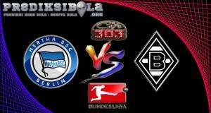 Prediksi Skor Hertha Berlin Vs Borussia M'gladbach 5 November 2016