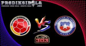 Prediksi Skor Kolombia Vs Chile 11 November 2016