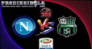 Prediksi Skor  Napoli Vs Sassuolo 29 November 2016