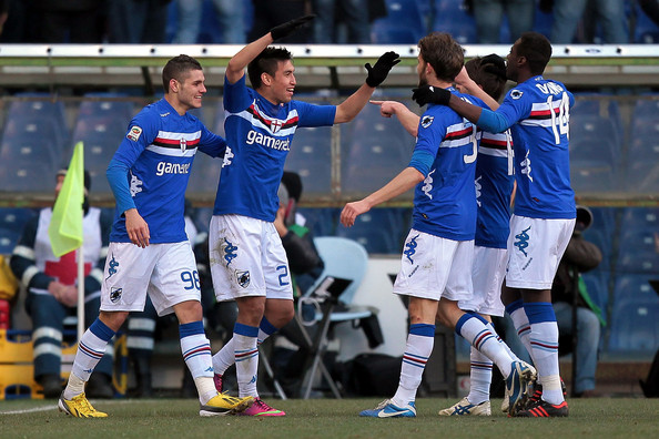 Sampdoria team football
