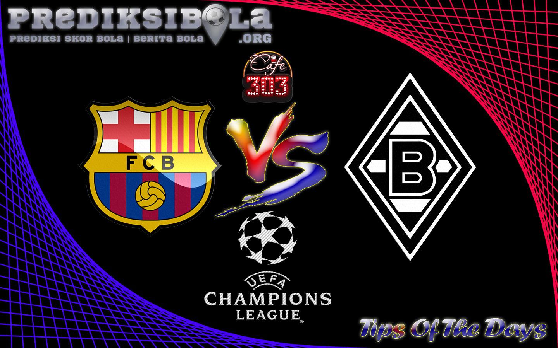 Prediksi Skor Barcelona Vs Borussia M'gladbach 7 Desember 2016