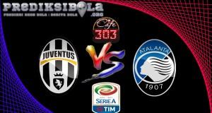 Prediksi Skor Juventus Vs Atalanta 4 Desember 2016