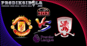 Prediksi Skor Manchester United Vs Middlesbrough 31 Desember 2016
