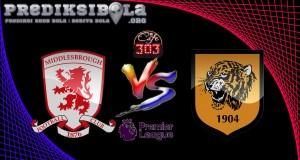 Prediksi Skor Middle Sbrough Vs Hull City 6 Desember 2016