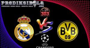 Prediksi Skor Real Madrid Vs Borussia Dortmund 8 Desember 2016