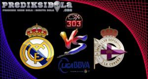 Prediksi Skor Real Madrid Vs Deportivo La Coruna 11 Desember 2016