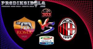Prediksi Skor Roma Vs Milan 13 Desember 2016