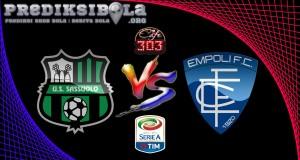 Prediksi Skor Sassuolo Vs Empoli 4 Desember 2016