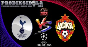 Prediksi Skor Tottenham Hotspur Vs CSKA Moskva 8 Desember 2016