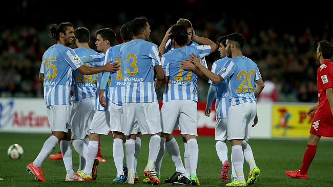 Malaga Football Team