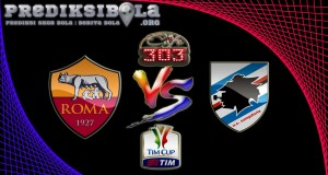 Prediksi Skor AS Roma Vs Sampdoria 20 Januari 2017