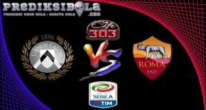 Prediksi Skor Udinese Vs AS Roma 15 Januari 2017