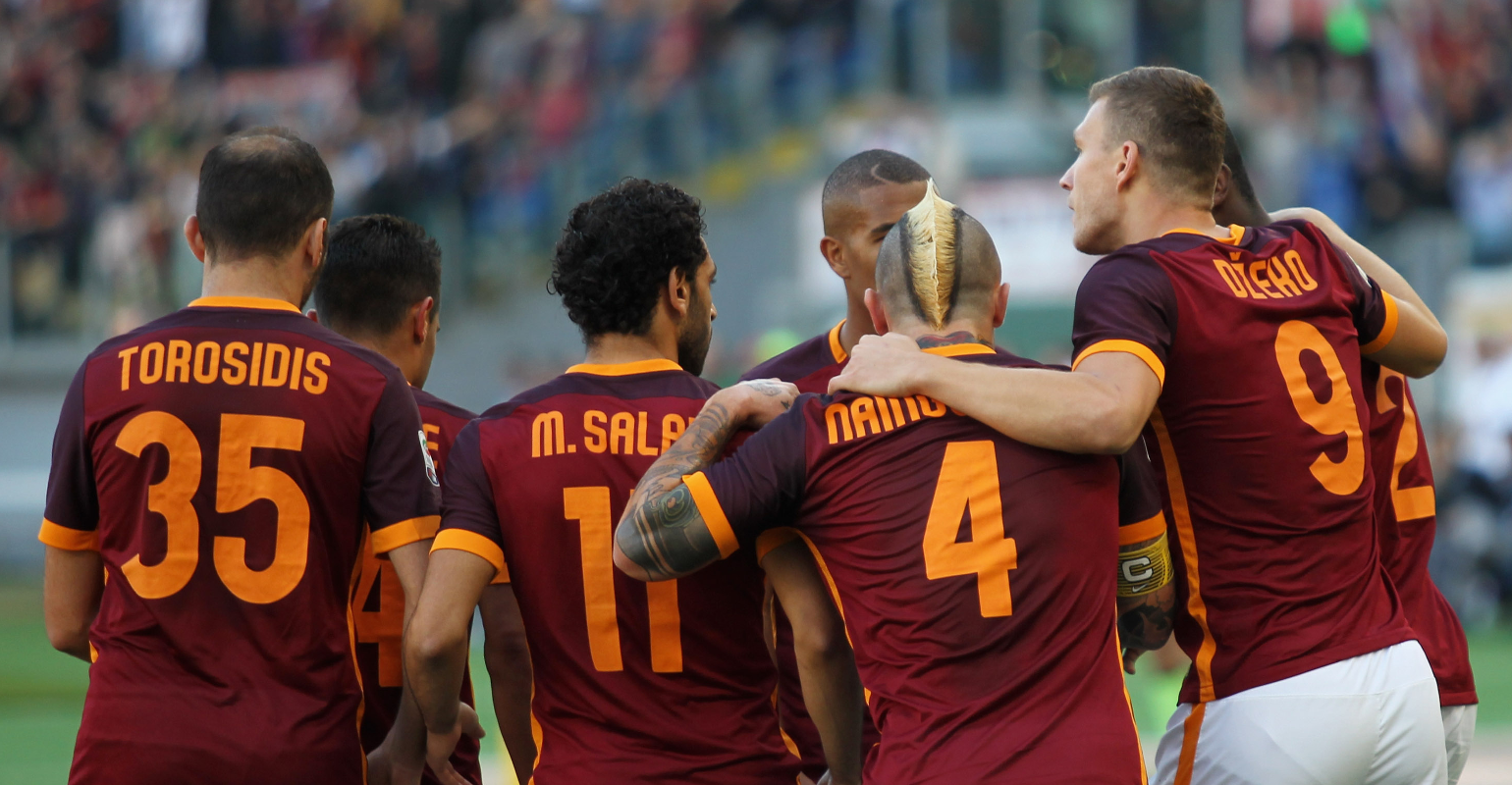 AS Roma Football Team