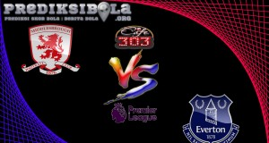 Prediksi Skor Middlesbrough Vs Everton 11 Februari 2017