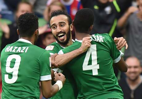 Arab Saudi Football Team