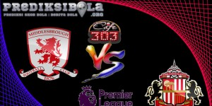 Prediksi Skor Middlesbrough Vs Sunderland 27 April  2017