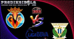Prediksi Skor Villarreal Vs Leganes 22 April  2017