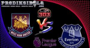 Prediksi Skor West Ham United Vs Everton 22 April  2017