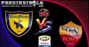 Prediksi Skor Chievo Vs Roma 20 Mei  2017