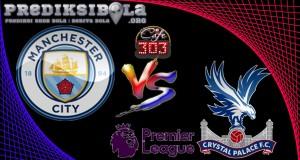 Prediksi Skor Manchester City Vs Crystal Palace 6 Mei  2017